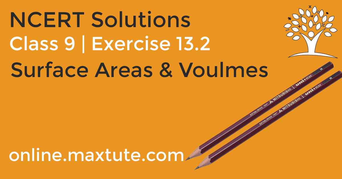 Exercise 13 2 | NCERT Solutions For Class 9 Math | Surface